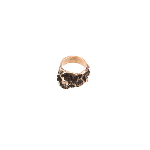 Doctum Doces Collection inlay-ring-bronze-side-b
