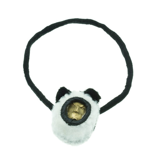 Hunting Trophies panda one-of-a-kind necklace