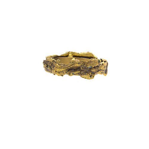 Doctum Doces Collection bark-3-brass- ring