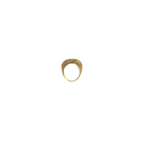 Doctum Doces Collection shake-ring-1-brass-side-a-front-view
