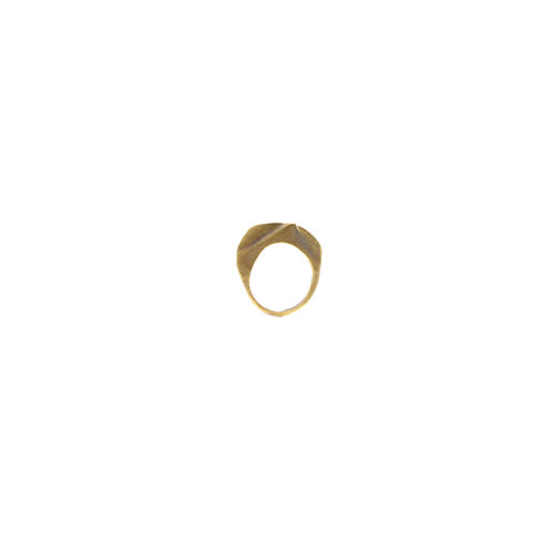 Doctum Doces Collection shake-ring-1-brass-side-b-front-view