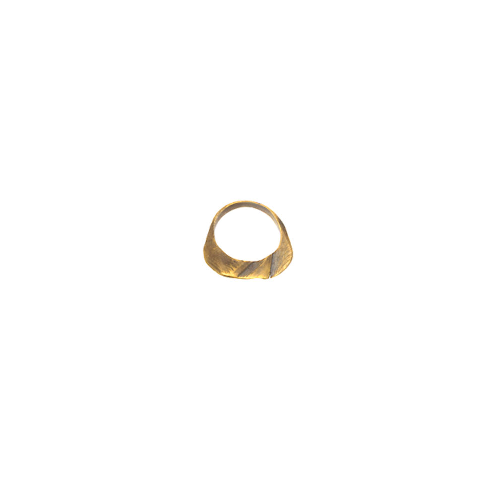 Doctum Doces Collection shake-ring-1-brass-side-b-top-view