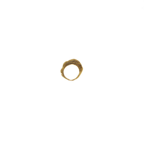 Doctum Doces Collection shake-ring-2-brass-side-b-front-view