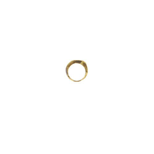 Doctum Doce Collection shake-ring-3-brass-front-view-side-a