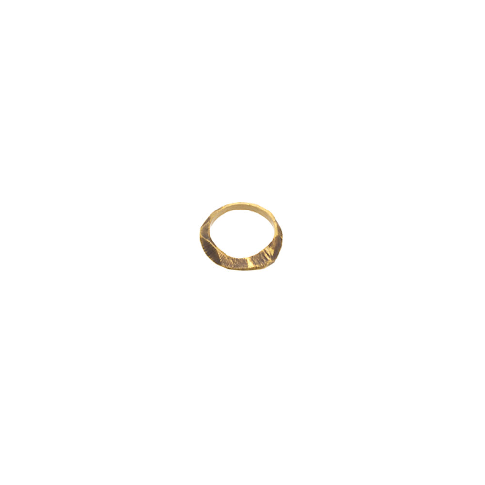 Doctum Doce Collection shake-ring-3-brass-top-view-side-a