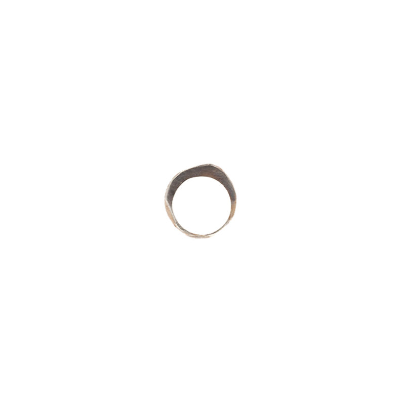 Doctum Doce Collection shake-ring-3-silver-front-view-a