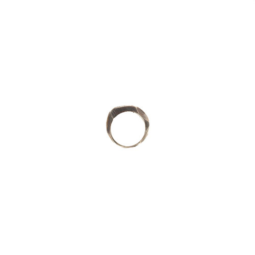 Doctum Doce Collection shake-ring-3-silver-front-view-side-b