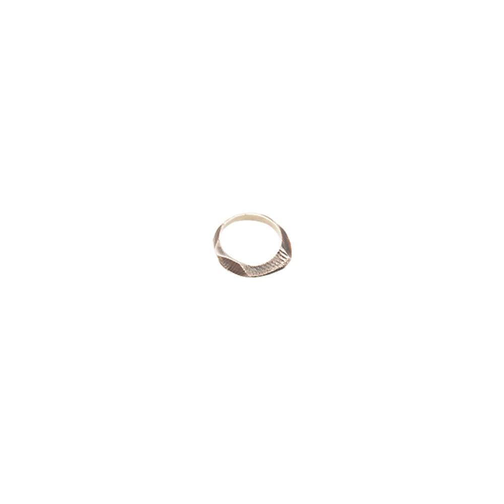 Doctum Doce Collection shake-ring-3-silver-top-view-side-a