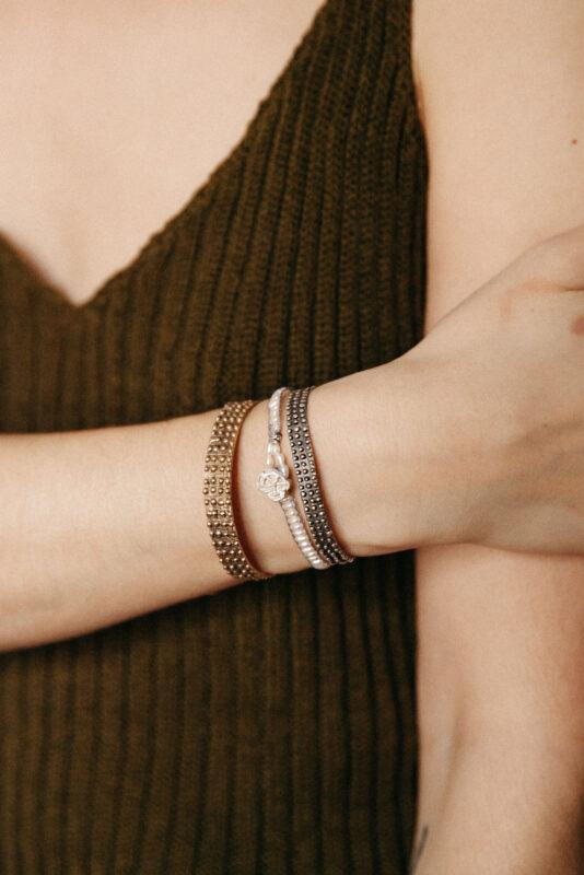 Jeppirachi collection detail cactus bracelet and cactus bangle